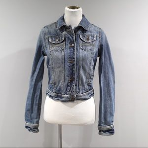 Abercrombie Fitch Denim Jacket Womens Large